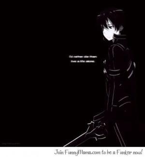 Kirito quote