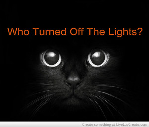 cute, halloween, lights off, quote, quotes
