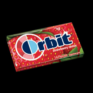 Orbit Gum Strawberry Remix 12CT