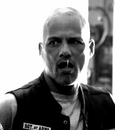 David Labrava Hells Angel Cut Happi soa, dingo david,