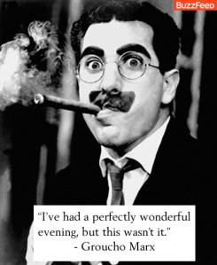 groucho marx one of the funniest comedians of the past 100 years