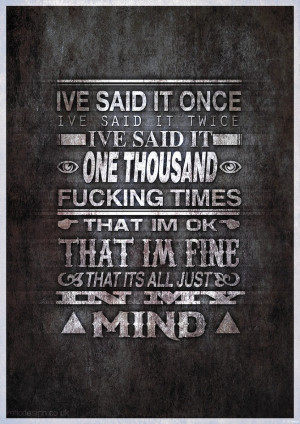 text is lyrics from it never ends by bring me the horizon it took me ...