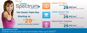 Charter Communications Internet and TV