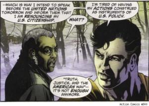 Superman Renounces U.S. Citizenship in 'Action Comics' #900