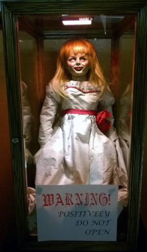 Sally the haunted doll