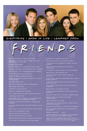 FRIENDS TV SERIES POSTERS, FRIENDS POSTERS
