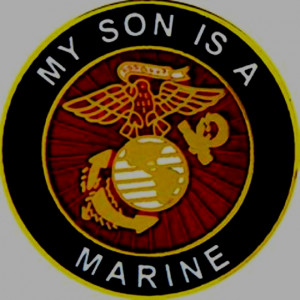 Proud of my Marine Corporal Colby D Hayes