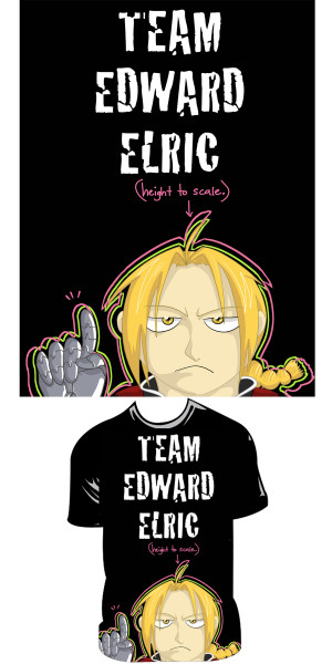 Team Edo shirt by Team-Edward-Elric