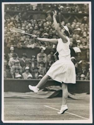 Helen Wills Moody, 1932, Wimbledon. Dorothy Wilding: Mrs Helen Wills ...