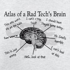 ... technologist thinks as well more tech brain rad tech radiology