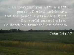 bible verses about peace of mind