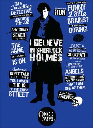OnceUponATee - Sherlock Quotes tshirt