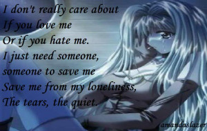 quotes-about-love, anime-sad-love, save, anime-sad-with-quotes, anime ...