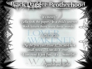 The Black Dagger Brotherhood: Lover Awakened and Quotes