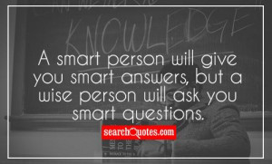 Smart Life Quotes About