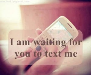 Download Waiting for ur text - Love and hurt quotes