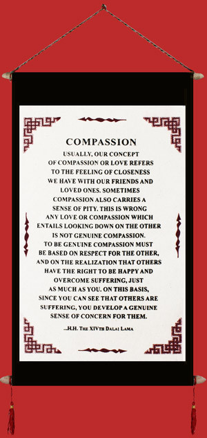 Dalai Lama's Quote on Compassion