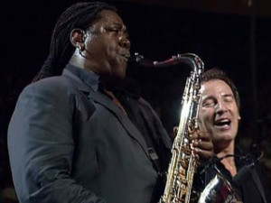Clarence Clemons, hospitalized in Florida after a stroke.