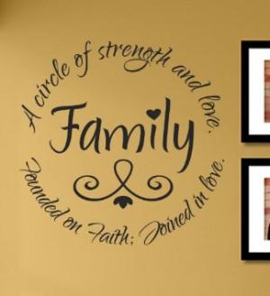 Inspirational Family Amazon.com: Family A circle of strength
