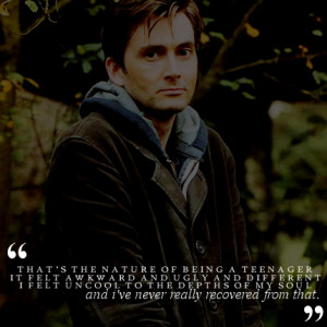 Doctor Who Funny Quotes David Tennant Quotesdavid tennantteenager