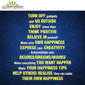 Let's make a fresh START by applying these simple rules in life.