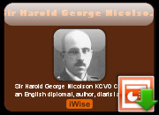 Sir Harold George Nicolson quotes