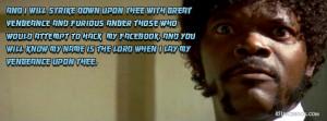 Funny Pulp Fiction Quote - Samuel L Jackson