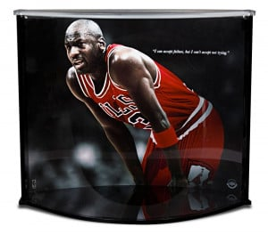 "Michael Jordan Failure Quote & Large ""Curve"" Multi-Purpose ..."