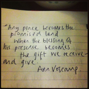 Ann Voskamp quote