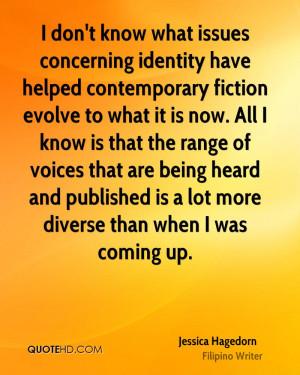 Jessica Hagedorn Quotes