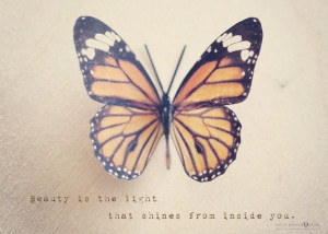 Butterfly Photograph - Inspirational quote, motivational art, wall ...