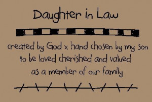 daughter in law quotes and sayings | Primitive Patterns ...