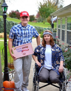 ... borrow one or rent one for the night. Forrest Gump & Lt. Dan Costume