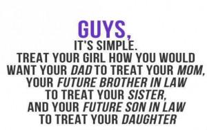 How Guys Should Treat Women