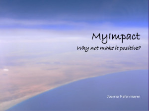 MyImpact inspirational quotes booklet - future makers