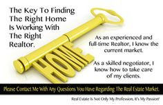 The Key To Finding The Right Home. Selling or Buying in IL? Contact ...