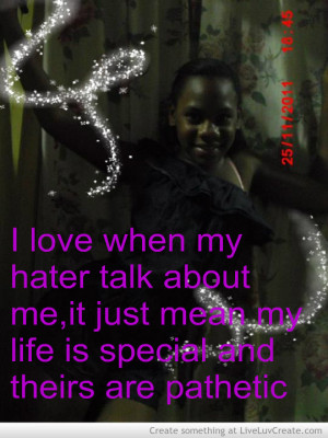 all haters, cute, pretty, quote, quotes, slims angel