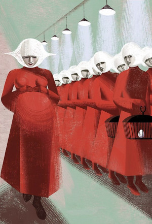 ... thought I'd seen it before. The handmaid's tale by margaret atwood