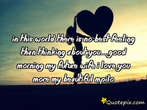 my future wife quotes