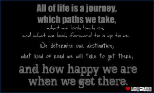 Chola Quotes Life is a journey