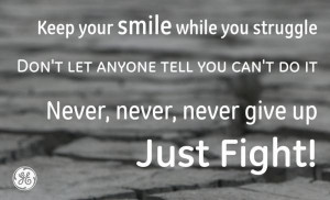 Fighting quotes, cool, motivational, sayings, smile
