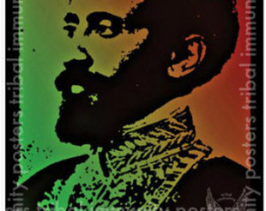 11x17in Educational Haile Selassie I African History Quote Glossy ...