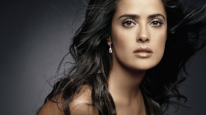 Salma Hayek Pose 2013 HD Wallpaper #3604