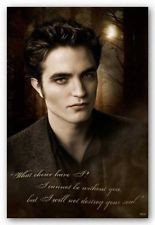 Twilight: NEW MOON Print featuring EDWARD CULLEN with Quote: Pick 1 of ...
