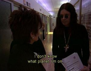 Neither do I Ozzy ...