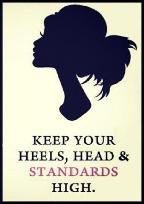 Ladies... - Inspirational Quote Images