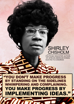HISTORY + VIDEO: Happy Birthday Shirley Chisholm