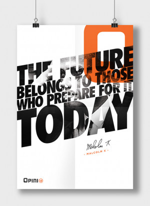 Bold Quotes Posters Featuring Great Leaders11