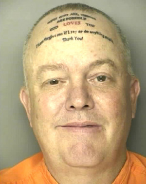Worst tattoo ever found on Robert Norton Kennedy, a South Carolina man ...