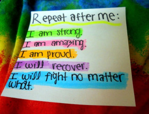 amazing, beautiful, fight, inspirational quotes, proud, recover ...